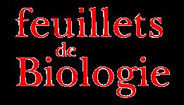 Nos partenaires presse - Feuillets de biologie